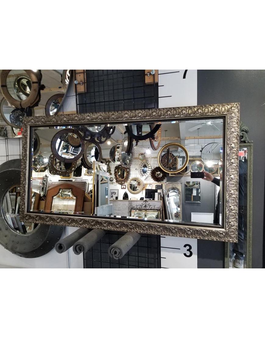 Miroir sur mesure avec sous cadre custom size mirror for Miroir sur mesure montreal