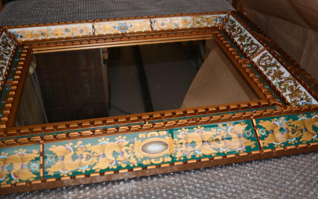 Peruvian mirrors coming soon at Ô Miroir